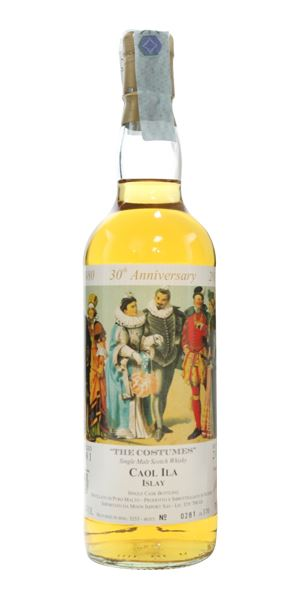 Caol Ila 1981, Costumes Series, Bottled 2010 (Moon Import)