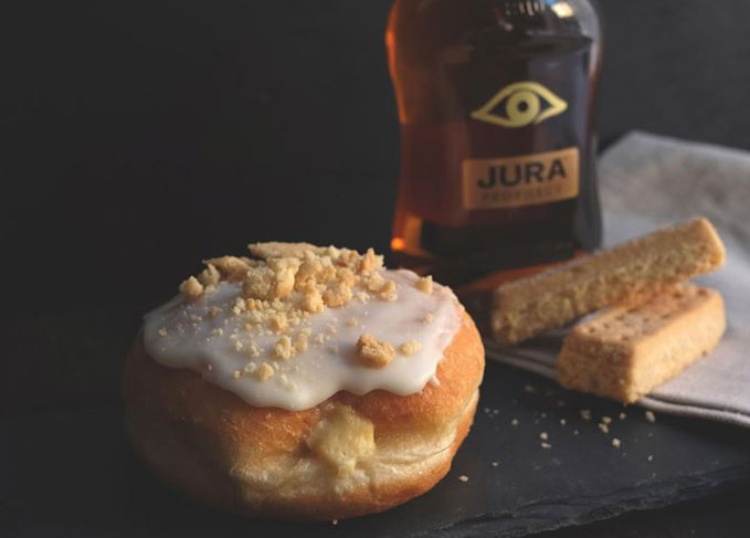 Crosstown's Jura single malt doughnut