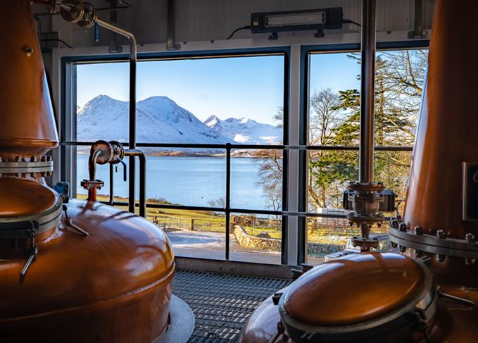 Isle of Raasay distillery stills