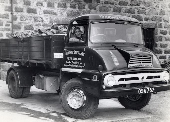 Glenugie distillery truck