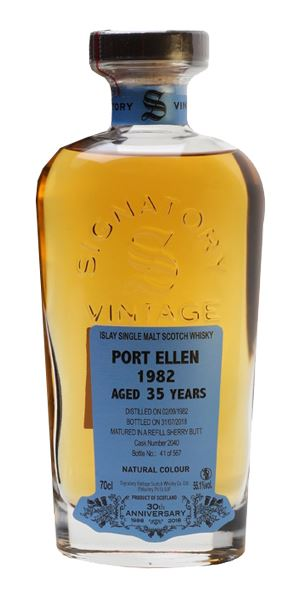 Port Ellen 35 Years Old, Signatory 30th Anniversary (Signatory)