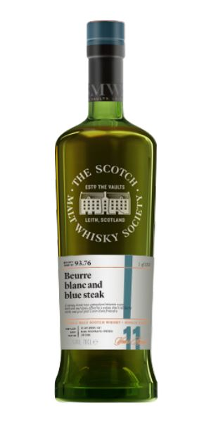 93.76: Beurre Blanc & Blue Steak (Glen Scotia 11 Years Old, SMWS)