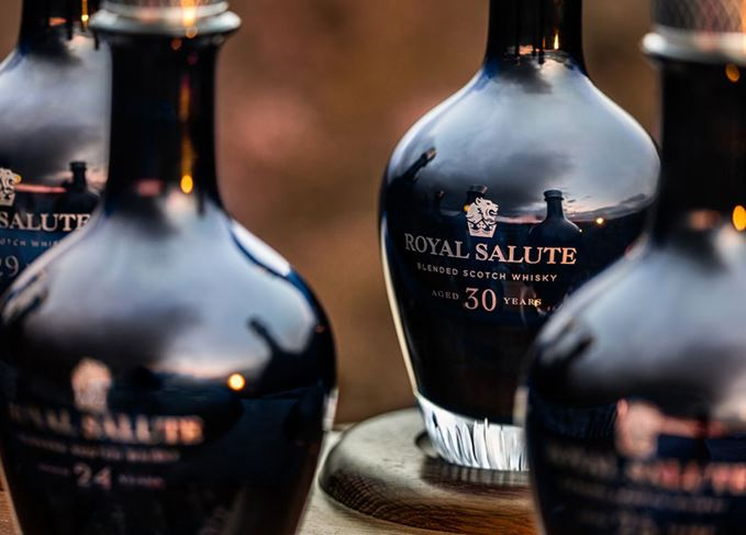 The Royal Salute Age Collection close-up