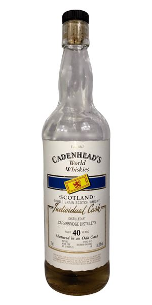 Carsebridge 40 Years Old (Cadenhead)