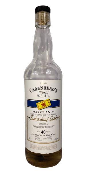 Carsebridge 40 Years Old (Cadenhead)