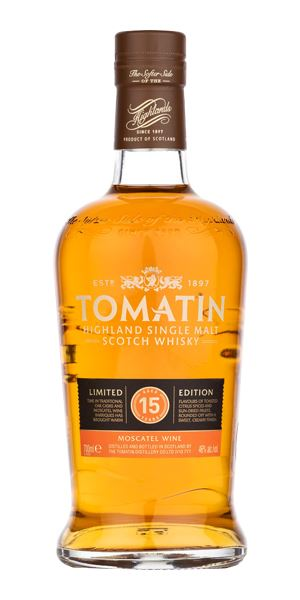 Tomatin 15 Years Old, Moscatel Finish