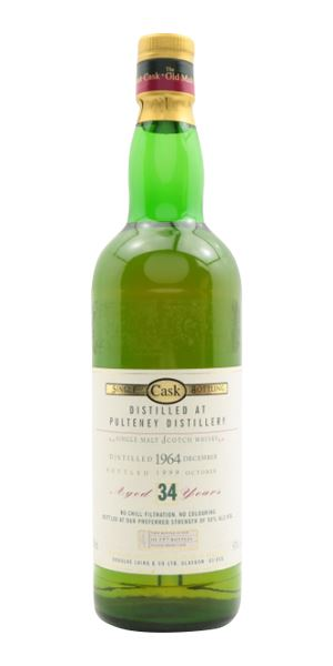 Pulteney 34 Years Old, Distilled 1964, Old Malt Cask (Douglas Laing)