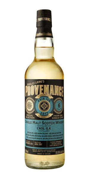 Caol Ila 6 Years Old Provenance Fèis Ìle 2017 (Douglas Laing)