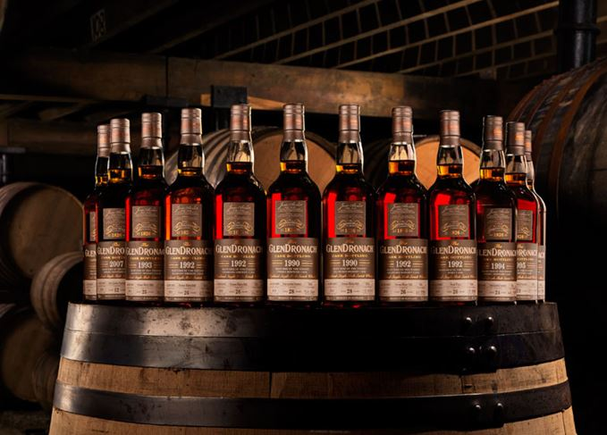 GlenDronach 17th single cask bottle series