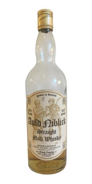 Auld Niblick Straight Malt (Robert Watson), bottled early 1970s