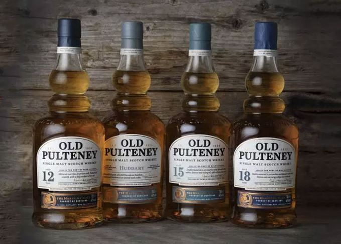 New Old Pulteney single malt whisky range 2018