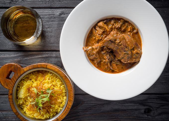 Curry and whisky Balvenie Caribbean Cask