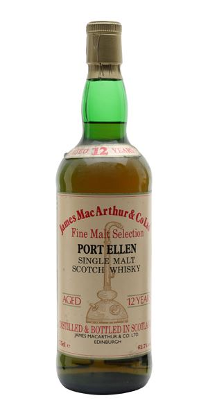 Port Ellen 12 Years Old (James MacArthur & Co.)